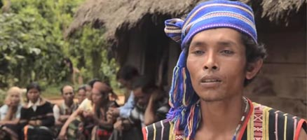 Indigenous Cambodians fight for rights to ancestral land
